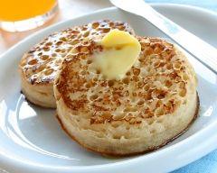 Crumpets (facile, rapide) - Une recette CuisineAZ