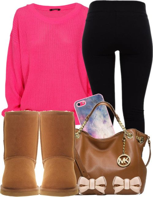 Winter Outfit with UGG boots mk just need $72.99!!!!!!! www.bags-shopping…