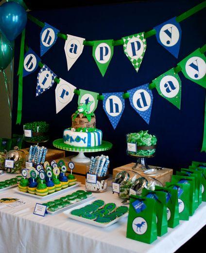 "Photo 7 of 14: Dinosaurs / Birthday ""Modern Dinosaur Birthday Adventure"" | Catch My Party"