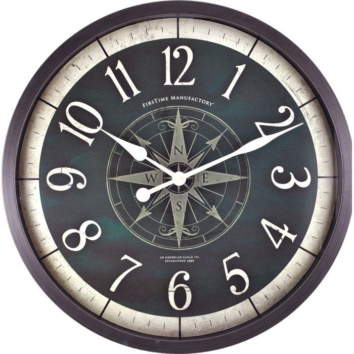 6a305e8931c3daeff4df1b8d168fcf5d - Better Homes And Gardens 28 Wall Clock Oil Rubbed Bronze