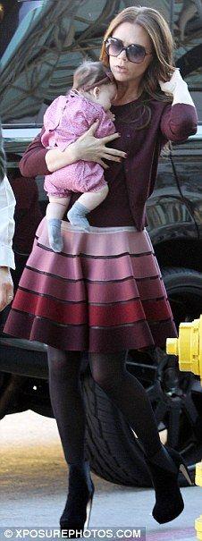 Loving this skirt on V. Beckham ~KC~