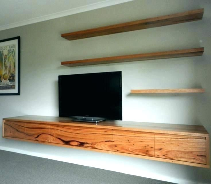 Floating Tv Unit, How To Make A Floating Cabinet