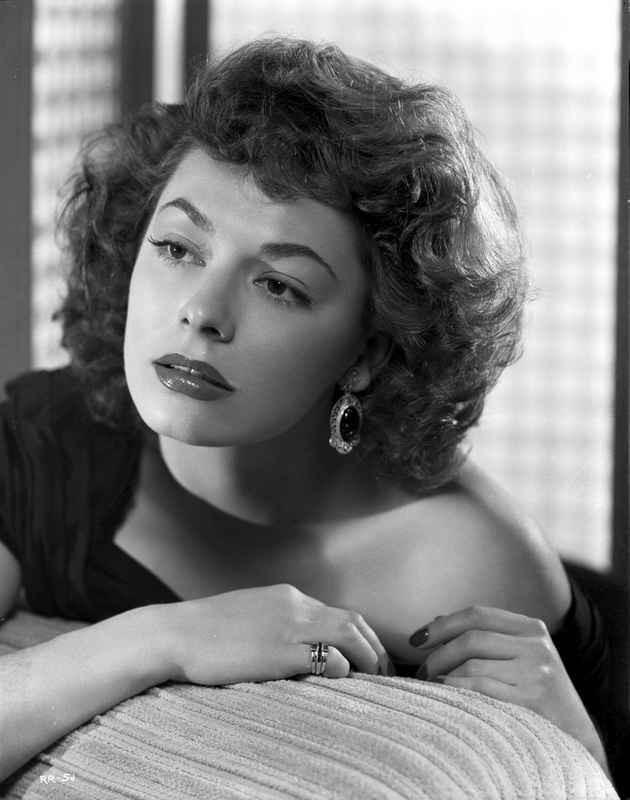Ruth Roman Lying Pose Black and White Portrait High Quality Photo – Movie Star News