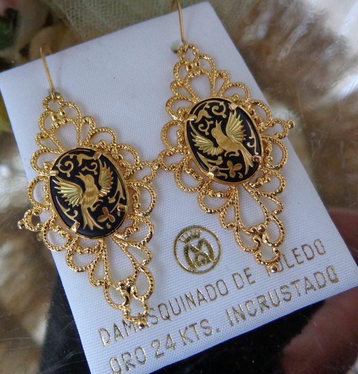 79 best Damascene jewelry images on Pinterest   Vintage ...