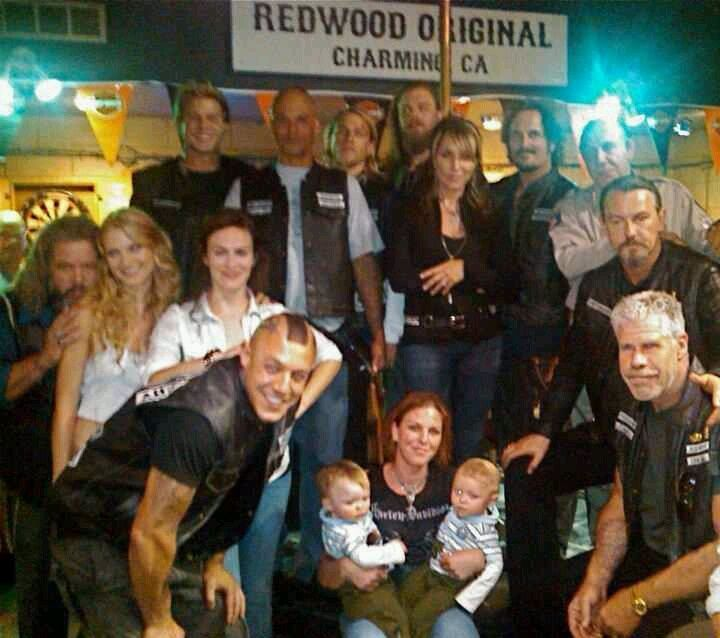 Juice In Group photos Sons of Anarchy | Cast crew | Sons of Anarchy