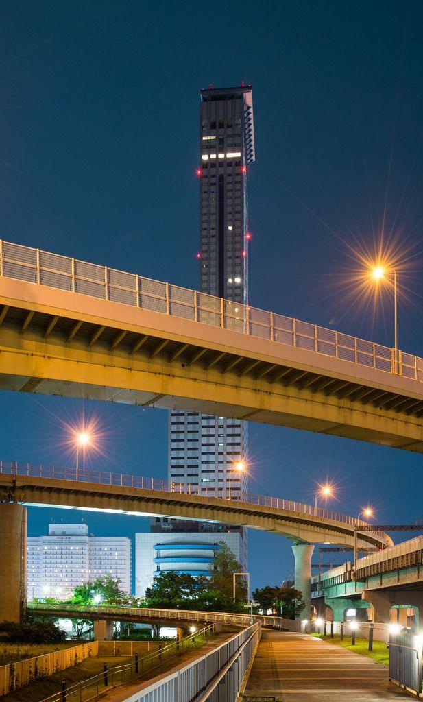 Rinku Gate Tower Building (りんくうゲートタワービル) / Architect : Nikken Sekkei (設計:日建設計、安井建築設計事務所JV).