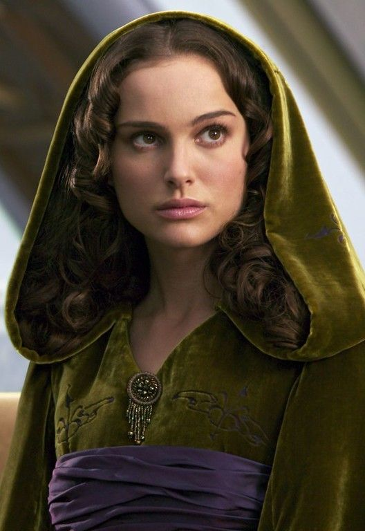 Padme. Love (most of) her hair and outfits, but it drives me crazy how inconsistent her hair length is. T_T Episode III especially.