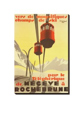 Art.com Assorted Megeve Stretched Canvas Print - Online Only