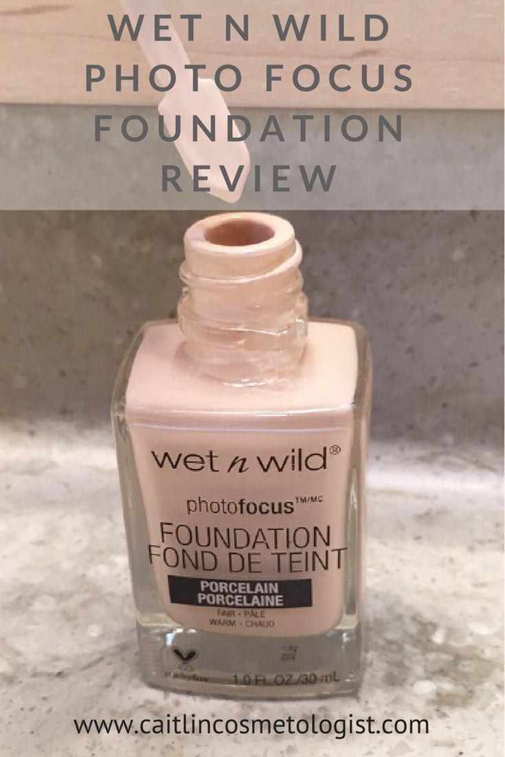 Wet n Wild Photo Focus Foundation Review | Swatches | Shades | Drugstore Foundation