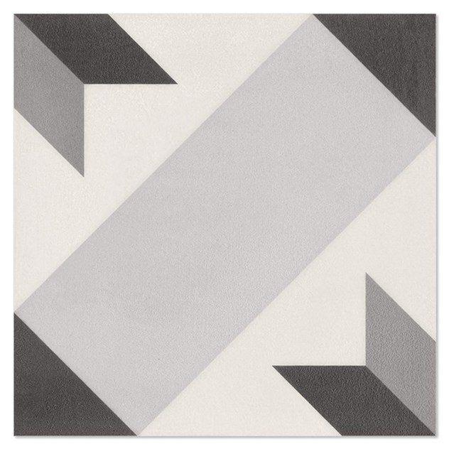 Klinker Hill Ceramic El Kalha Grå 18,7x18,7 cm KLG2113