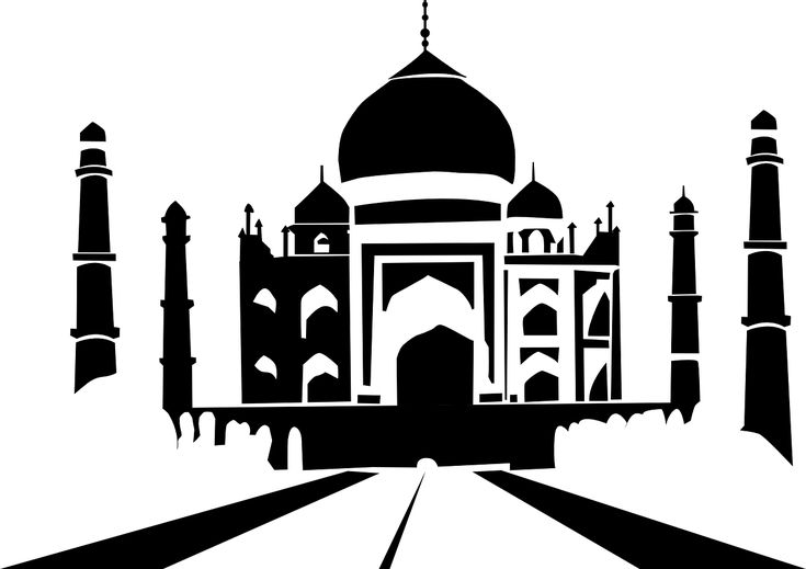 Vacation Taj Mahal Architecture India Agra Landmark Vacation Taj Mahal Architecture India Agra Lan Decal Wall Art Vinyl Wall Art Decals Taj Mahal