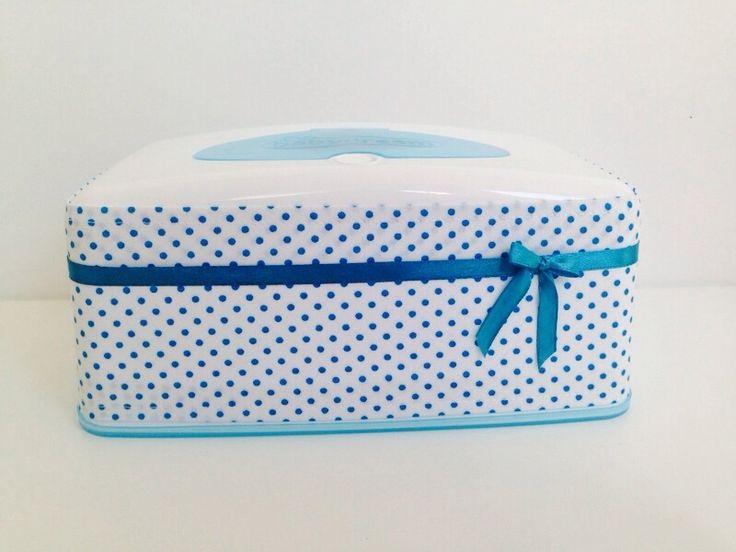 Feuchttüchertaschen - Feuchttücherbox mit Bezug,  Feuchttücher Box Hülle - ein Designerstück von MinaMausekind bei DaWanda
