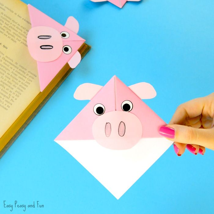 We have another farm animal craft idea to share with you today! We are making super fun looking pig corner bookmarks. These origami bookmarks are insanely easy to make and make a wonderful classroom craft project or an gift to give to friends and family. *this post contains affiliate links* We really do love making …