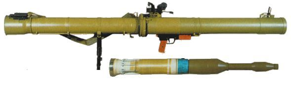 RPG-29 Rocket Launcher | RPG-29 antitank grenade launcher with PG-29V grenade, ready for ...