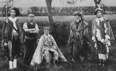 Charles Faa Blythe Coronation 1898 - Scottish Gypsies