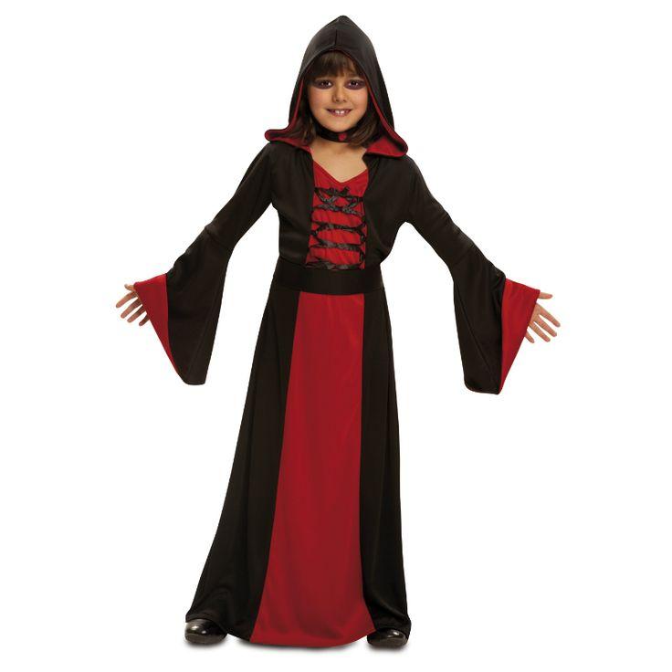 Disfraz de Hechicera Roja Infantil #disfraces #halloween