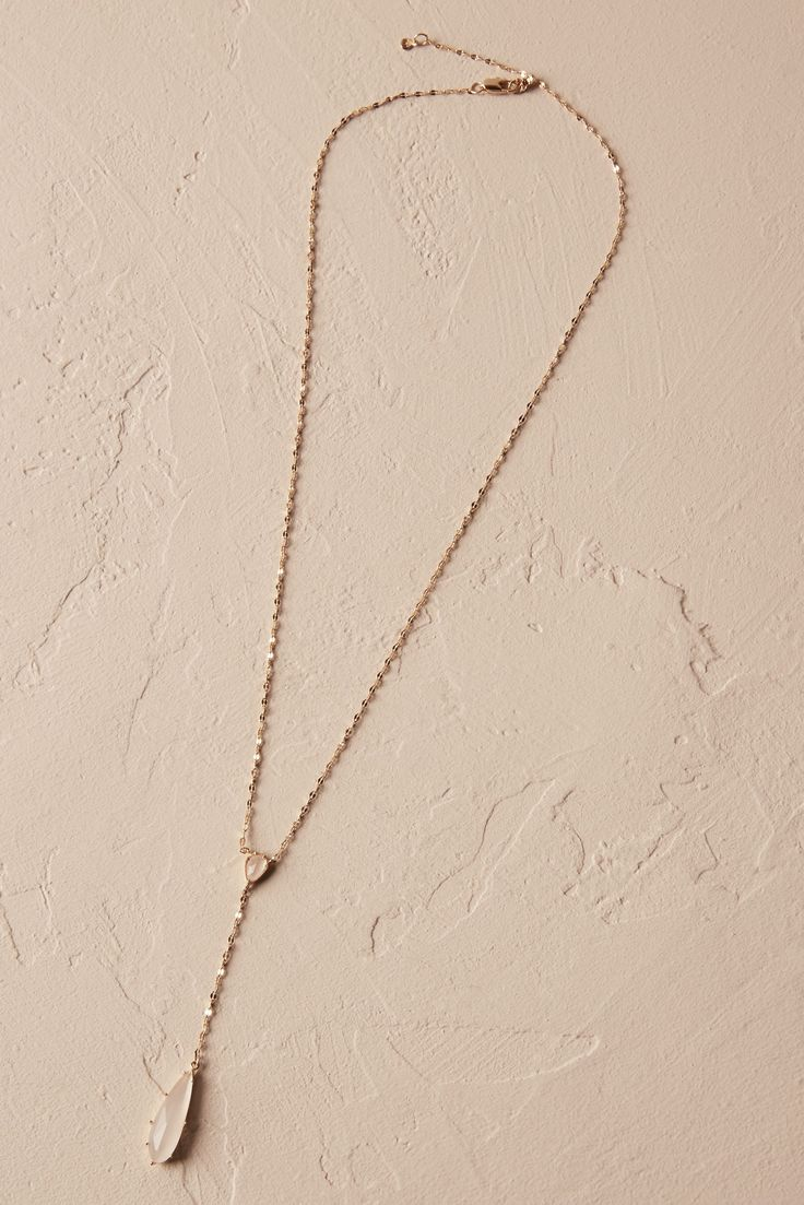 Lara Pendant Necklace from @BHLDN