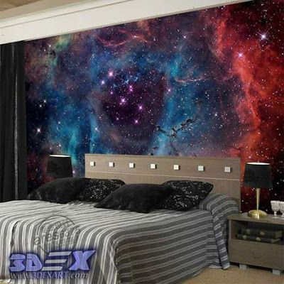 New 3D wallpaper designs for wall decoration in the home, 3d galaxy wallpaper for bedroom  How to decorate your home with 3D wallpaper for wall, One of the best 3D wall covering and texture for unique interior 2018, Top tips on how to choose suitable 3D wallpaper for a wall in your home, All types of 3D wallpaper types and how to install it?