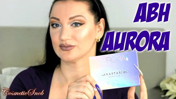 ABH AURORA GLOW KIT FIRST IMPRESSIONS SWATCHES DEMO REVIEW