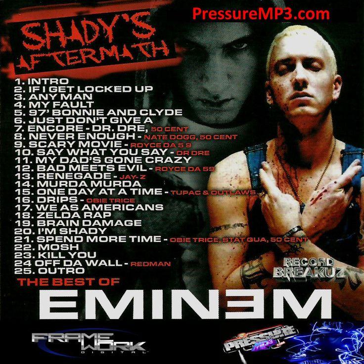 The Best Of Eminem DJ 151 Mixtape - Eminem Mixtape CD Compilation