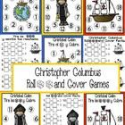 Celebrate Christopher Columbus/Cristobal Colon Day with this cute math independent center.   Students roll 1,2 or 3 dice, add the numbers, and cove...