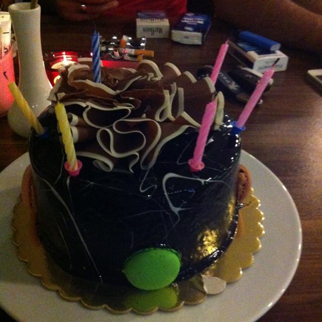 Doğum günü pastam. 01_08_2012 yaş:36