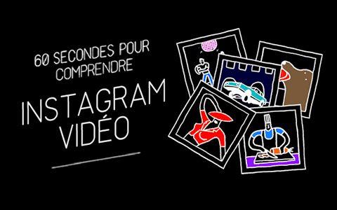 60 secondes pour comprendre Instagram vidéo