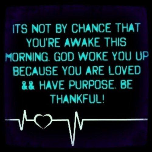 Good Morning Instagram World We Are Here Bright: Be Thankful Quotes Quote God Morning Thankful Good Morning