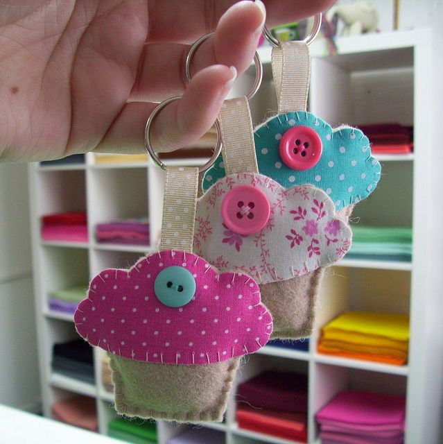 may 2010 freebie :: key rings by paper-and-string-on-flickr, via Flickr