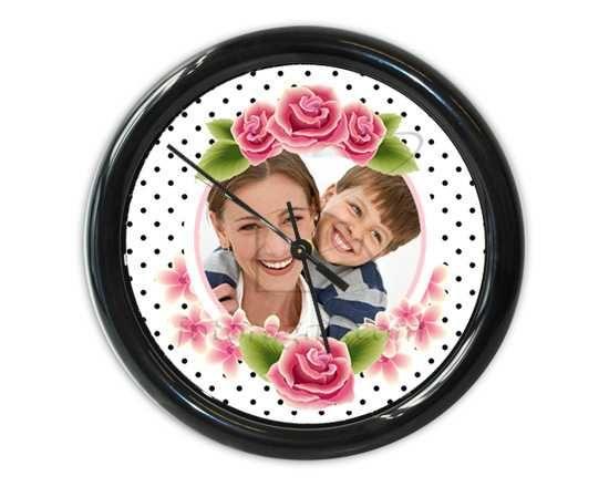 Rose con pois neri per il tuo orologio