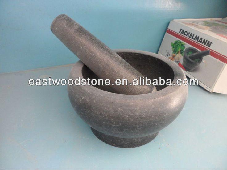 la buena calidad natural de granito mortero y maja-imagen-Imitaciones Antigüedades-Identificación del producto:1402764007-spanish.alibaba.com