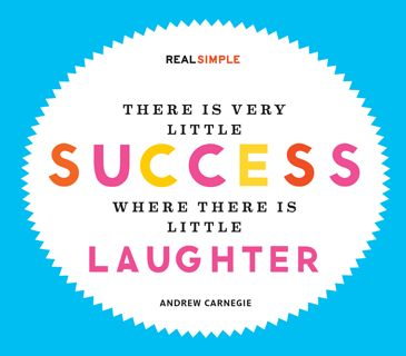 """There is very little success where there is little laughter."" —Andrew Carnegie #quotes"