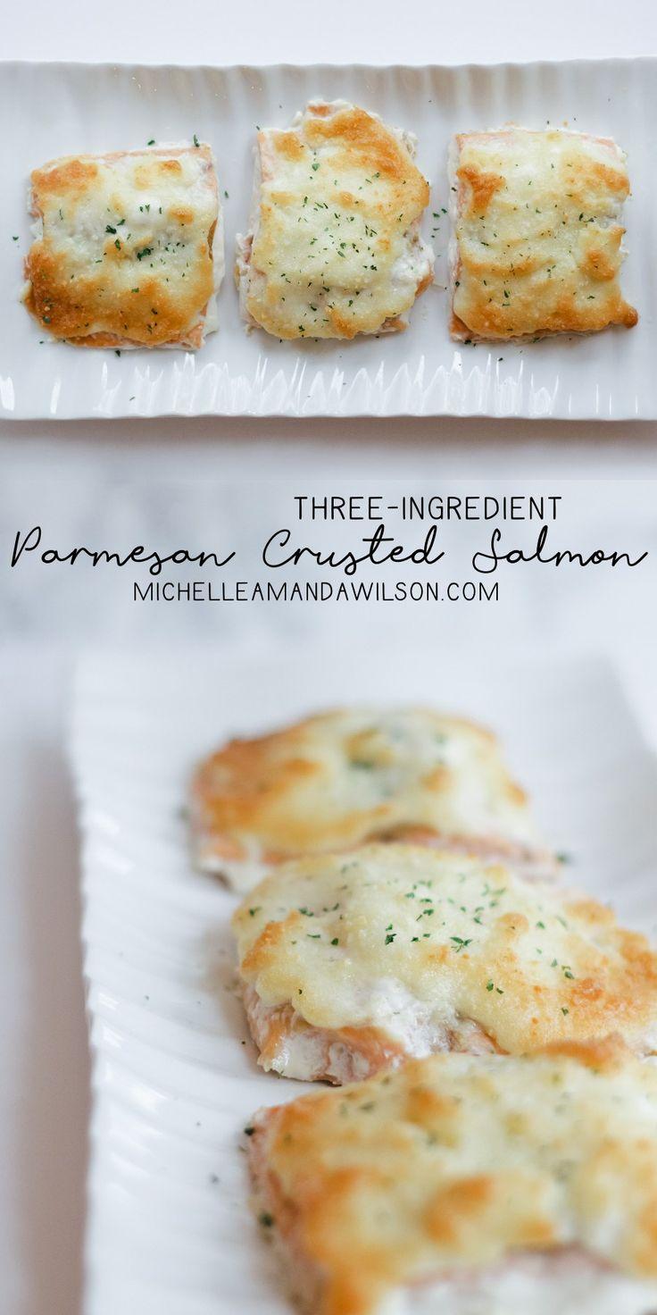 Parmesan Crusted Salmon Recipe - Michelle Amanda Wilson