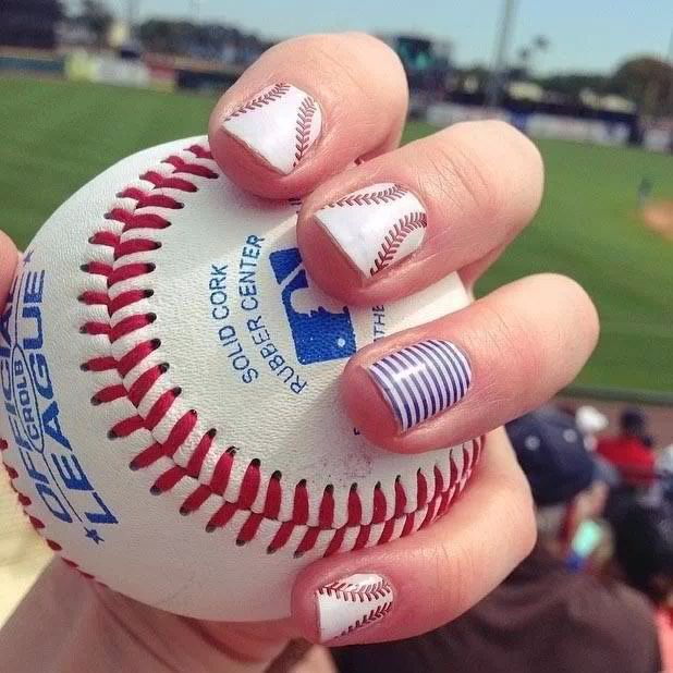Jamberry Sport Themed Nails