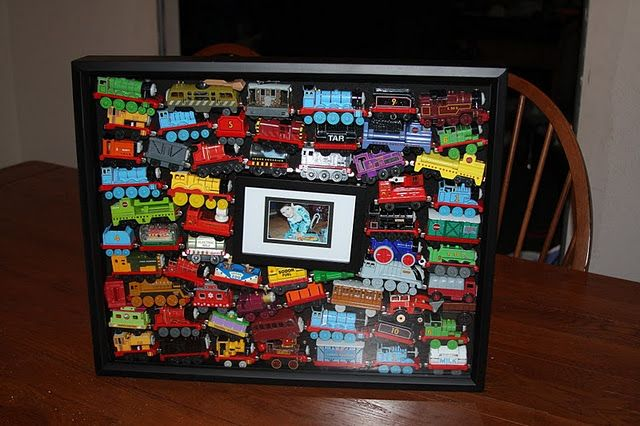 Cool display for all the trains I can't stand to get rid of (yet).
