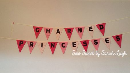 'Charmed Princesses' to match their colours