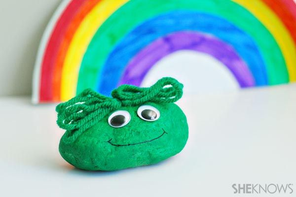 St. Patrick's Day crafts for preschoolers-Blarney Stones