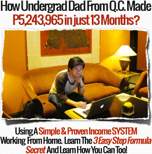 Discover How Undergrad Dad From QC Make Milions in just 13 Months