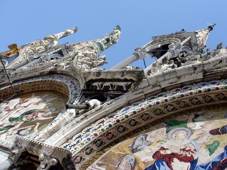Fragment of St Mark's Basilica Venice