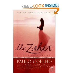 The Zahir: A Novel of Obsession By: Paulo Coelho.  I just can't put it down!
