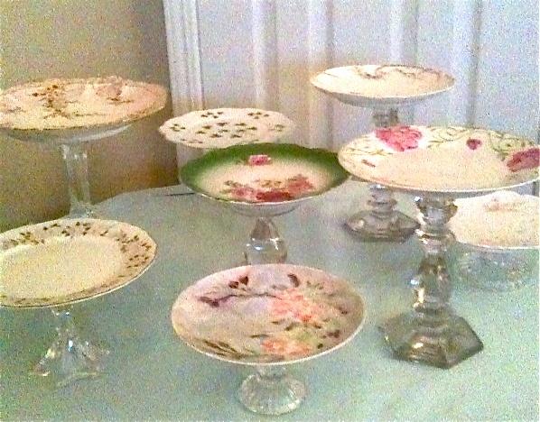 1000 Ideas About Vintage Cake Plates On Pinterest Cake