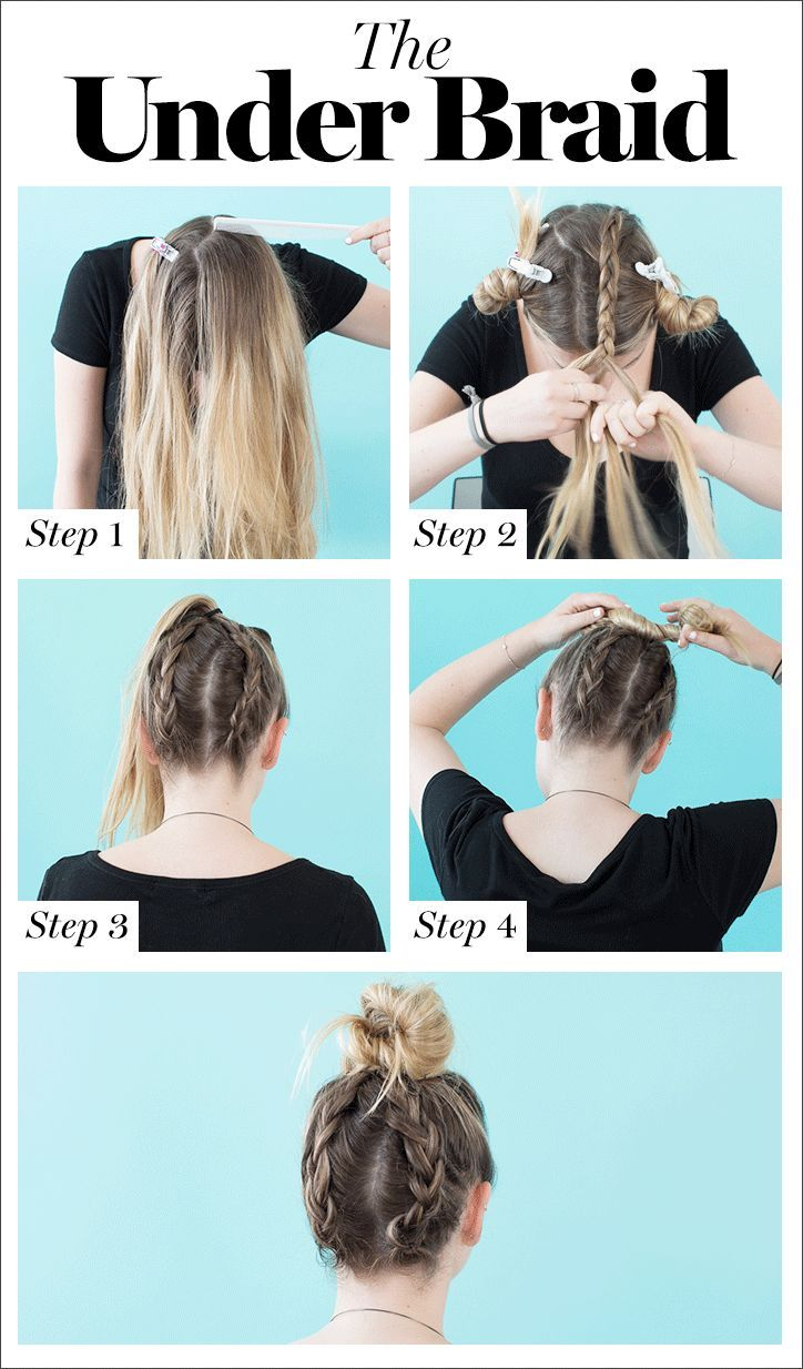 10 Cool Braids You Can Actually Do On Yourself Braiding