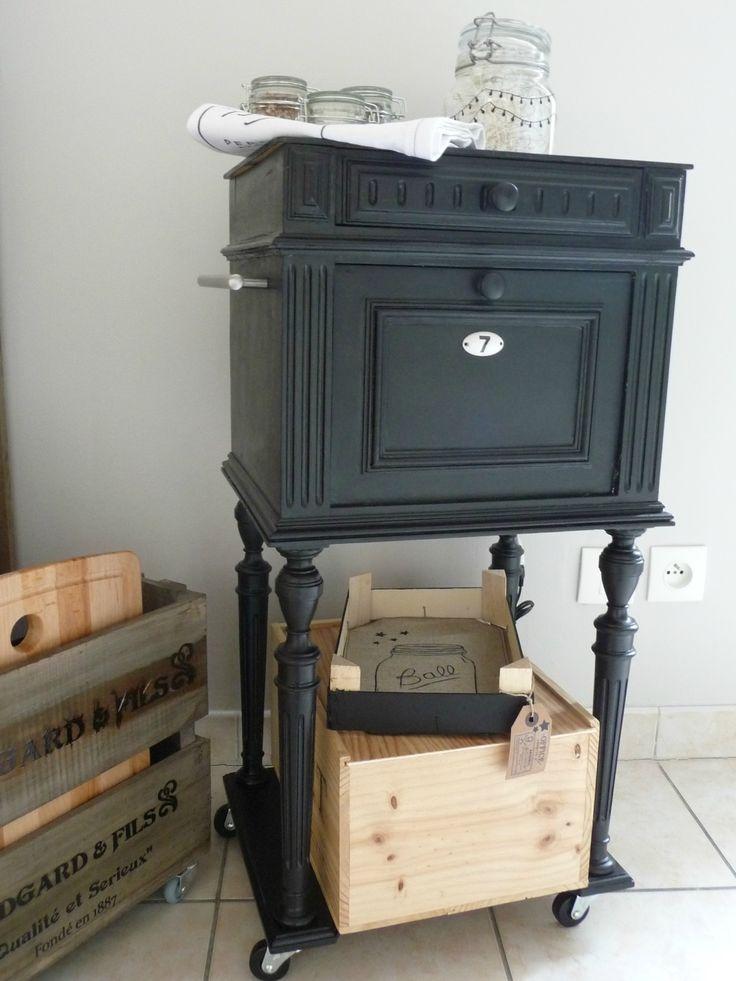 Les 25 meilleures id es concernant mobilier peint en gris for Relooker des vieux meubles
