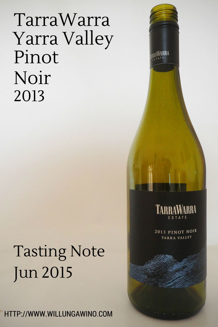 TarraWarra Yarra Valley Pinot Noir 2013 wine tasting review