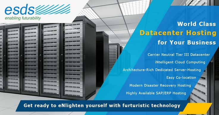 Experience world class #Hostingsolutions for your #Business with Esds's carrier neutral #TierIII #Datacenters