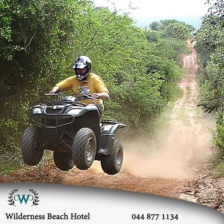 Another one of the many activities that can be enjoyed near to the Wilderness Beach Hotel is offroad Quad biking and there are a number of operators in the vicinity that will assist you in these adventures. #destinations #extremesport #lifestyle