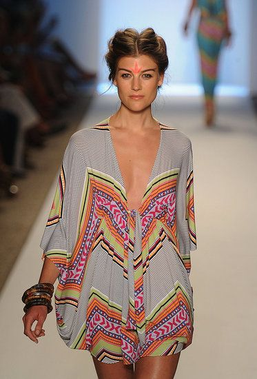 Idk if this is a swim coverup but I would wear it as one. Or around the house on a lazy day.