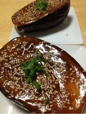 茄子!味噌田楽 Sautéed eggplant with Miso