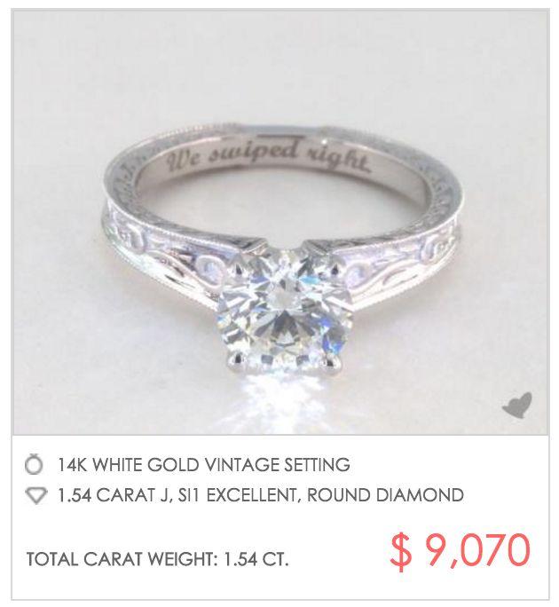 15 best Best Engraved Engagement Rings images on Pinterest