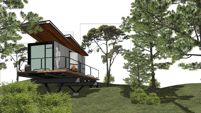 Container house - 3D Warehouse